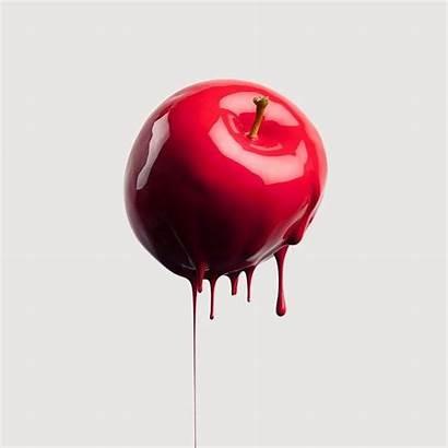 Apple Fruit Melting Aesthetic Surrealism Minimalist Canon