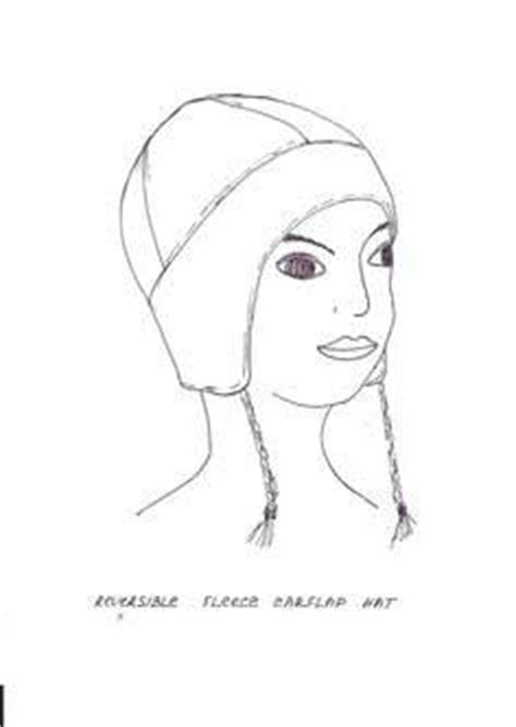 Fleece Hat Template by 100 Fleece Hat Patterns Tutorials Easy Sew And No Sew