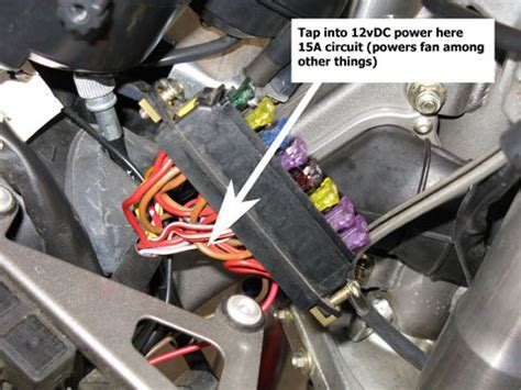 Fuse Box 2007 Yamaha R6 by Fan Relay Bypass Question Page 3 Ducati Ms The