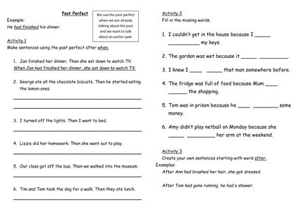 grammar worksheets and by victeach uk teaching