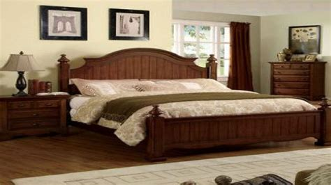 Solid Wood Bedroom Sets, Country Style Bedroom Ideas