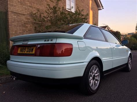 old car owners manuals 1995 audi cabriolet electronic toll collection 1995 audi 80 coupe 2 8 quattro manual very rare colour sold car and classic