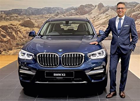 Mr. Vikram Pawah, President, BMW Group India with the all ...
