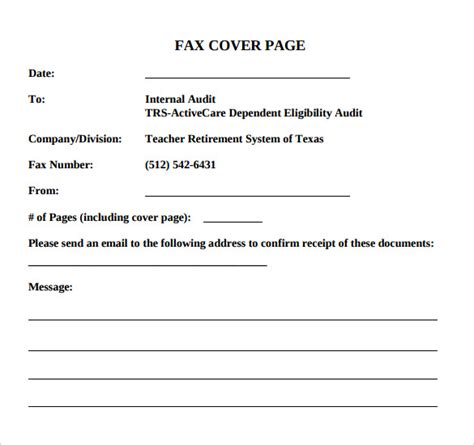 14479 fax cover sheet exle 14 sle basic fax cover sheets sle templates