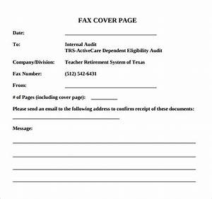 Basic Fax Cover Sheet Fax Cover Letter Template Pany Name with ...