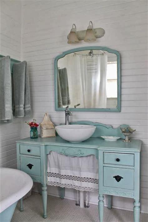 shabby chic bathroom vanity australia rinnovare il bagno con un vecchio mobile