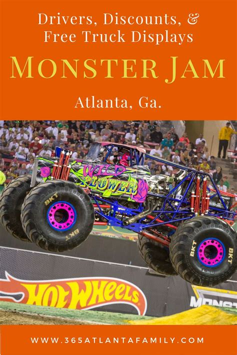 monster truck jam tickets 503 best atlanta events and festivals guide images on