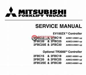 Mitsubishi Forklift Trucks 2011 Parts Catalog   Service Manual