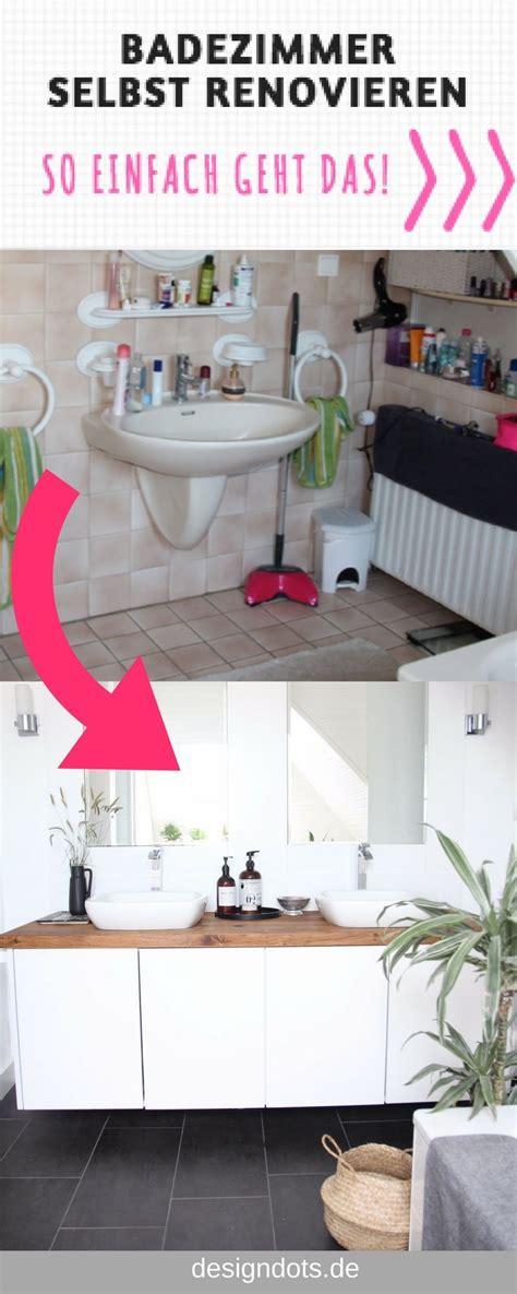 Kleine Badezimmer Günstig Renovieren by Badezimmer Selbst Renovieren Vorher Nachher Haushalt