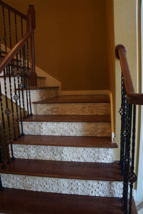tile  stairs ideas  pinterest part  stairs