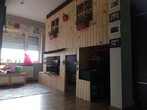 lit à étage avec bureau lit cabane ikea with lit a etage avec bureau
