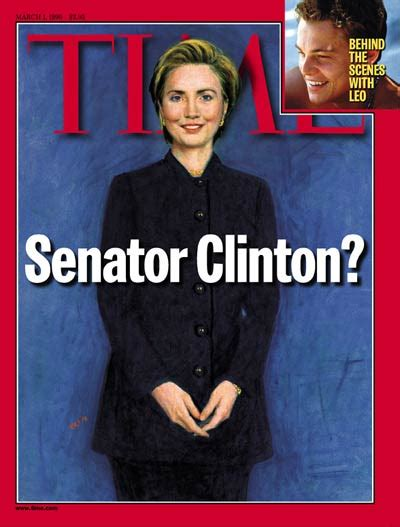 Hillary Clinton Cover by Time Magazine Cover Hillary Rodham Clinton Mar 1 1999