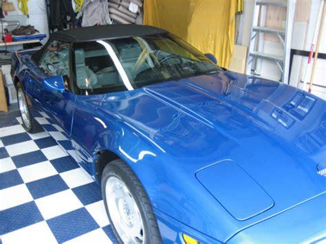 car maintenance manuals 1992 chevrolet corvette engine control 1992 quasar blue corvette convertible classic chevrolet corvette 1992 for sale