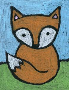 Baby Fox Drawing · Art Projects for Kids