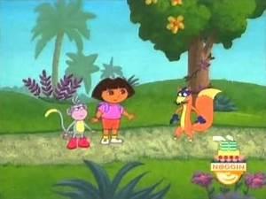 Dora the Explorer Swiper Mega Cut - YouTube