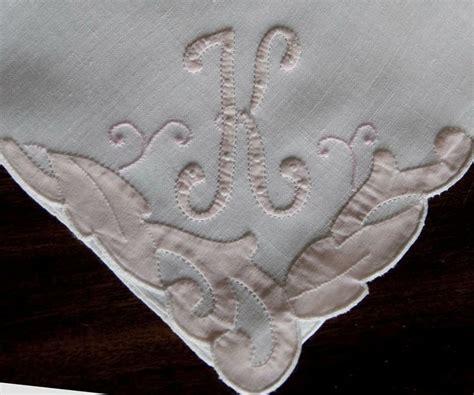 image gallery monogrammed handkerchiefs 1000 images about antique monogram hankies on pinterest