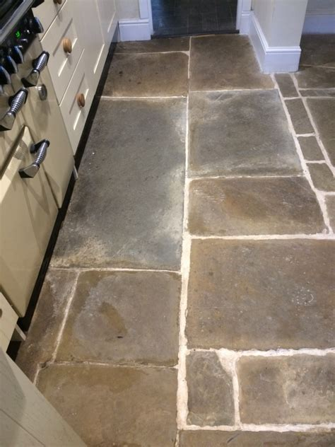 Kitchen Floor Flagstone Tiles by Flagstone Tiled Kitchen Floor Renovated At A