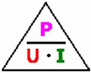 Leitfähigkeit Berechnen : das ohmsche gesetz ohmsches gesetz in der tontechnik physik berechnung magisches dreieck ~ Themetempest.com Abrechnung