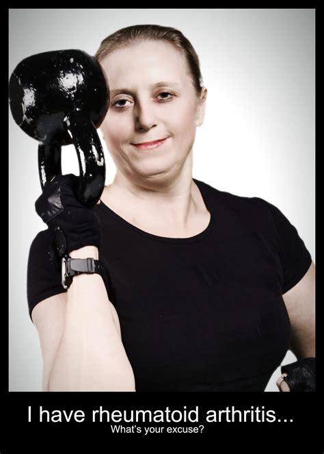 kettle ball kettlebell arthritis rheumatoid coach female training