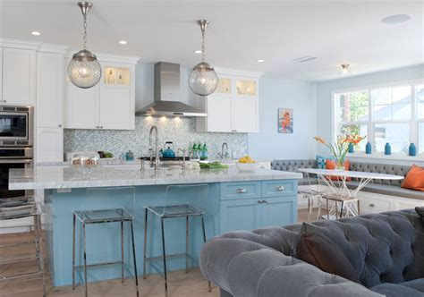 Kitchen Island Accent Color by 67 Desirable Kitchen Island Decor Ideas Color Schemes