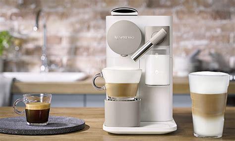 les nouvelles machines  capsules nespresso lattissima