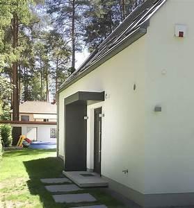 Eingangsüberdachung L Form : eingangs berdachung hauseingang vordach von siebau an einem einfamilienhaus pinterest ~ Indierocktalk.com Haus und Dekorationen