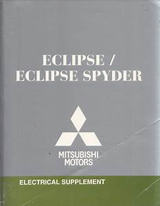 2009 Mitsubishi Eclipse  U0026 Spyder Wiring Diagram Manual Original