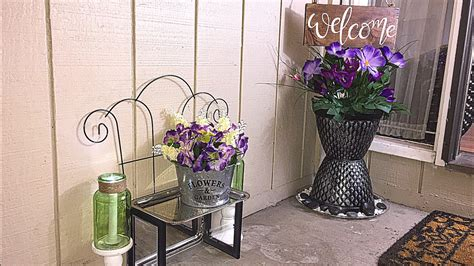 1 Dollar Home Decor : Diy Dollar Tree Spring Porch Decor
