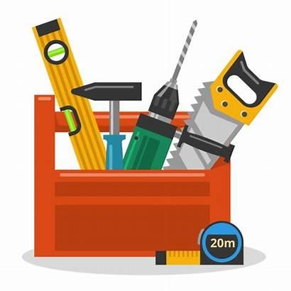Tools Toolbox Hammer Cartoon Drill Wrong Dildo