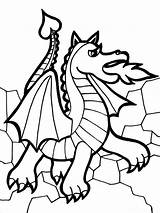 Coloring Pages Dragons Animals Dragon Printable sketch template