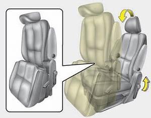 Kia Sedona: Walk-in seat (2nd row seat) - Rear seat ...