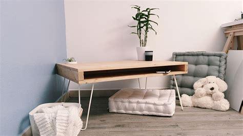 diy fabriquer une table basse avec des hairpin legs diy