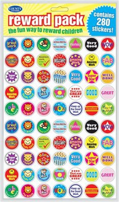 Mini Well Done Stickers  Stickers  Pinterest Teacher