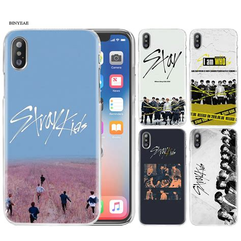 Totally free shipping and returns. Stray Kids Case Cover Clear Hard PC for iPhone XS Max XR 7 8 6 6s Plus X 5 5s SE 5C 4 4S-in Half ...