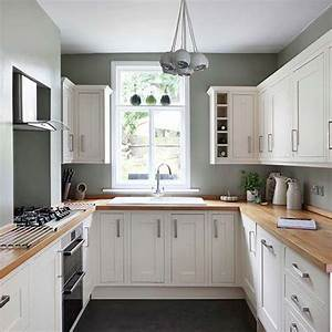 19 practical u shaped kitchen designs for small spaces With small u shaped kitchen design ideas