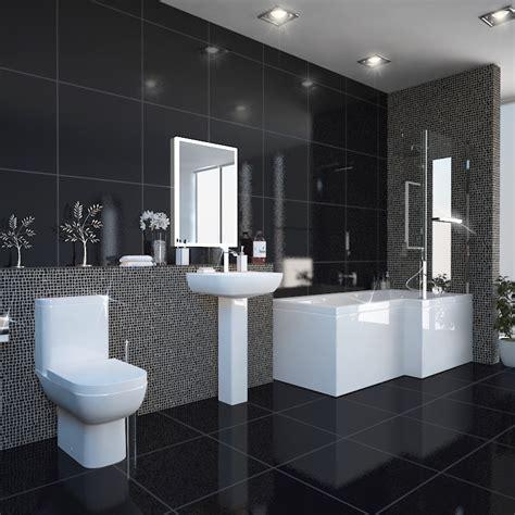 Buy Shower Bath by L Shape Shower Bath Right Handed Buy At Bathroom City