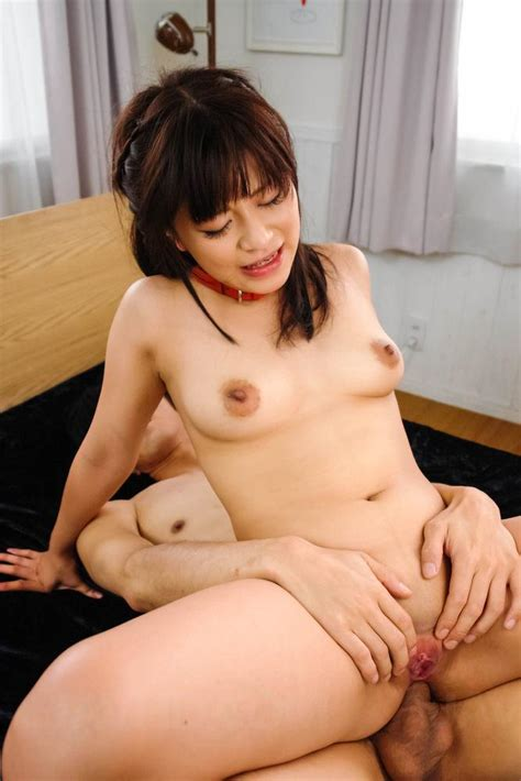 watch porn video aika hoshino asian with red leash is