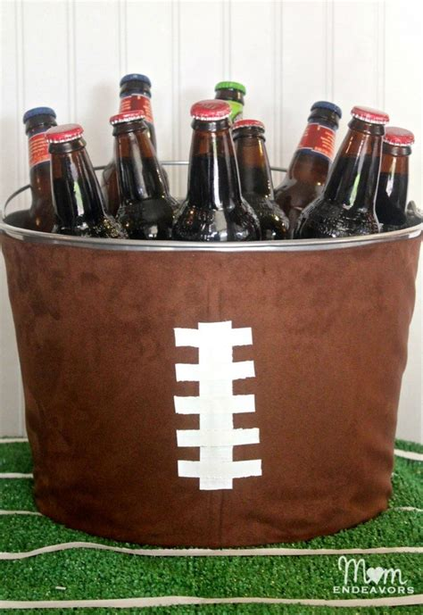 mind blowing diy super bowl decorations   football