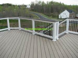 trex transcends deck ropeswing color with vintage lantern border by www outdoorescapesdeck