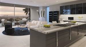 Modern, House, With, Luxury, Kitchen, Design, And, Dining, Table