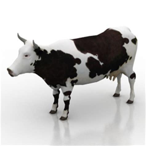 Animals 3D Models   Cow N160814   3D model (*.gsm *.3ds