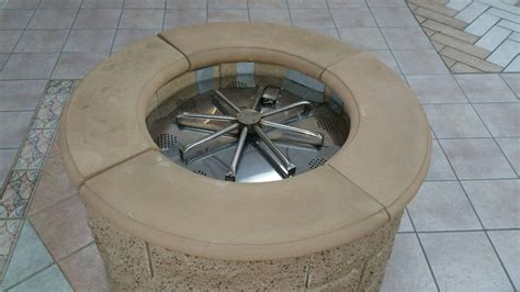Pit Gas Ring by Masonry Ring