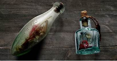 Witch Bottle Bottles Found Witchcraft Protection Chimney