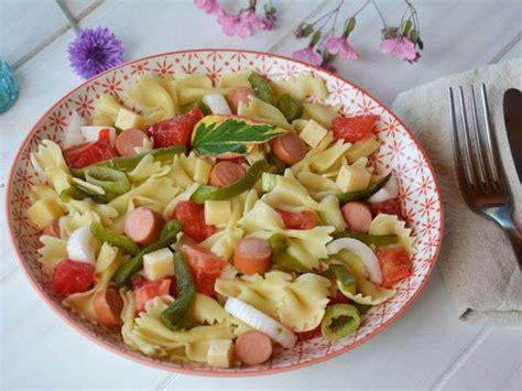recettes de salade de p 226 tes et poivrons