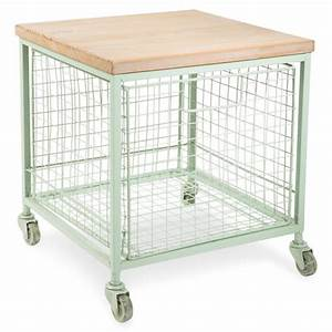 Tavolino A Rotelle In Metallo Garden Factory 59 99