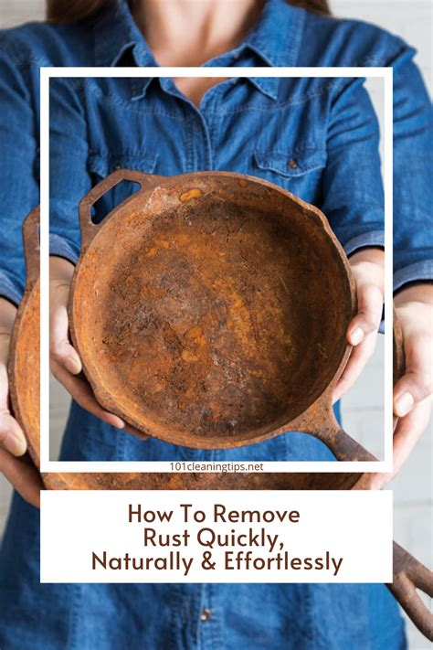 rust 101cleaningtips remove naturally quickly effortlessly soda