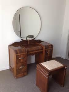 Waterfall Vanity Dresser Set by 1930s Art Deco Waterfall Bedroom Furniture 6 By