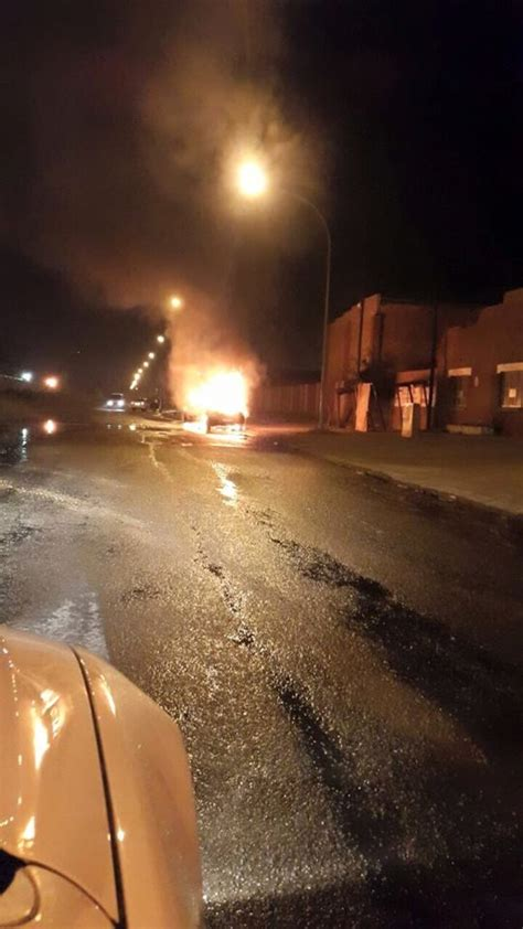 intelligence bureau sa hijacked benoni car goes up in flames the citizen