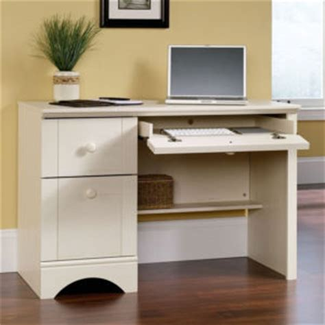 Sauder Harbor View Desk Black by White Writing Desk With Drawers Storage Gift Ideas For