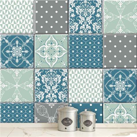 Fliesenaufkleber Mosaik Bad by Patchwork Karma 01 Fliesenaufkleber Set
